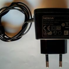 Incarcator retea telefon mobil Nokia, AC-3E, iesire CC 5 V / 350 mA
