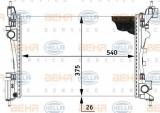 Radiator, racire motor FIAT PUNTO Van (199) (2008 - 2016) HELLA 8MK 376 728-784