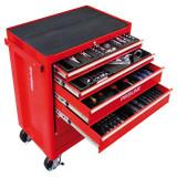 Dulap scule echipat Proline, 688 x 458 x 735 mm, 5 sertare, 193 piese