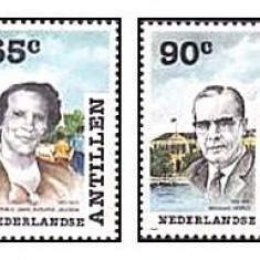 Antilele Olandeze 1988 - personalitati, serie neuzata