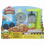 Play-Doh, Set Wheels - Macara si stivuitor