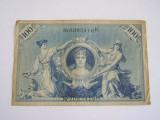 MDBS - BANCNOTA FOARTE VECHE - GERMANIA - 100 MARCI - 1908
