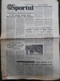 Ziarul Sportul din 21 octombrie 1977