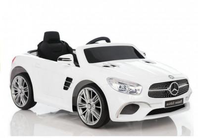 Masinuta electrica Mercedes-Benz SL400, alb foto