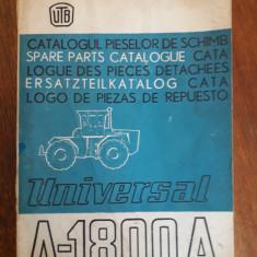 Catalogul pieselor de schimb Tractor Universal A 1800 A UTB / R7P5