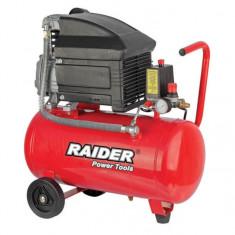 Compresor de aer 50 L x 1500 W Raider Power Tools RD-AC02