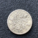 Cumpara ieftin a377 Marea Britanie 6  six pence 1928