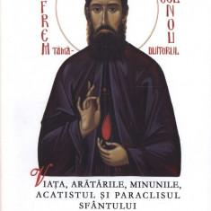 Viata, aratarile, minunile, acatistul si paraclisul Sfantului Efrem Cel Nou - grabnicul ajutator si marele facator de minuni