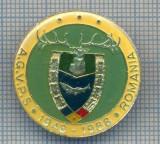 AX 148 INSIGNA VANATOARE SI PESCUIT SPORTIV PERIOADA RSR -A.G.V.P.S -1948-1988