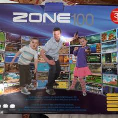 Consola de Jocuri Interactive Zone 100 PE 32 BITS , ARE 100 JOCURI  .
