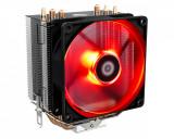 Cooler CPU ID-Cooling SE-903 V2 iluminare rosie