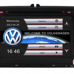 Unitate Multimedia cu Navigatie Audio Video cu DVD BT si WiFi Volkswagen VW Golf Plus + Card 8Gb cu Soft GPS si Harti GRATUITE