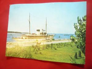Ilustrata Galati - Vasul Hotel Libertatea circulat 1972
