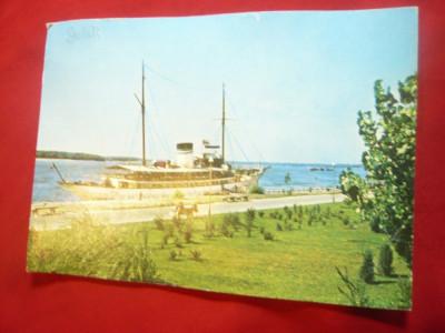 Ilustrata Galati - Vasul Hotel Libertatea circulat 1972 foto