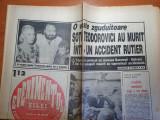 Evenimentul zilei 31 octombrie 1992-art m. morgenstern,m.jackson si regele mihai