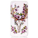Cumpara ieftin Husa iPhone XR 6.1'' Luminous Patterned Flowered Elk