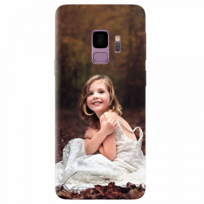 Husa silicon pentru Samsung S9, Girl In Wedding Dress Atest Autumn