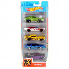 Set masinute Hot Wheels, HW Flames, FKT64-29B (5 modele)