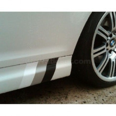 Sticker ornament auto BMW Flag - Gray