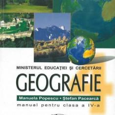 Geografie. Manual pentru clasa a IV-a, Clasa 4, Aramis