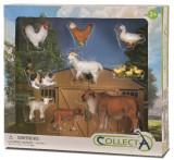 Set 9 Figurine Collecta, Animalele de la fermă