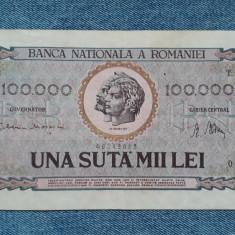 100000 lei 1947 , Romania 100.000