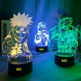 Lampa veioza 3D Naruto Shippuden Konoha Itachi Uchiha Kakashi Anime  +CADOU!