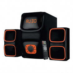 Boxe 2.1 Havit HV-SF3088BT, bluetooth, FM, USB, Negru