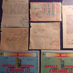 Lot Bilete  Loterie, anii  60-'90