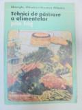 TEHNICI DE PASTRARE A ALIMENTELOR PRIN FRIG-GHEORGHE MIHALCA,VERONICA MIHALCA BUCURESTI 1986