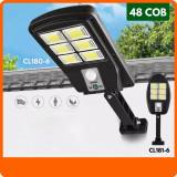 Lampa Solara cu LED, 48 COB, telecomanda inclusa