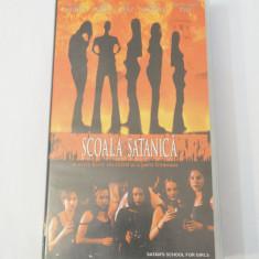 Caseta video VHS originala film tradus Ro - Scoala Satanica