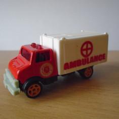 Macheta auto camion Ambulance