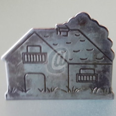 Casuta inox decorativa, 4,7 cm