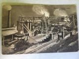 Cumpara ieftin Reșița 1923 - furnalele înalte, uzina, Circulata, Printata