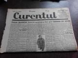 Ziarul Curentul , director Pamfil Seicaru , 15 mai nr.1896/1933