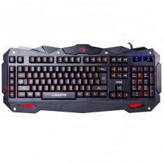 Tastatura Gaming Marvo K748 cu fir neagra