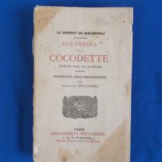 SOUVENIRS D'UNE COCODETTE_ECRITS PAR ELLE-MEME , PARIS , 1921 , EROTICA