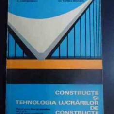 Constructii Si Tehnologia Lucrarilor De Constructii - N.andrei M.angelescu R.constantinescu Fl.gheorghiu,542360