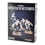Pachet Miniaturi Warhammer 40k, Tau Empire XV25 Stealth Battlesuits