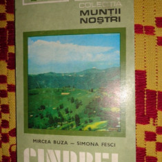 Muntii cindrel nr.11 colectia muntii nostri cu harta