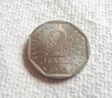 Franta - 2 Francs 1993 - Comemorativa (Jean Moulin)-  L7