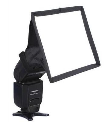 Softbox Flash Difuzer universal 15x17cm pt. blitz extern Nikon, Canon etc. foto