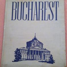Bucuresti-Bucharest. Album foto, 1953 . Text in lb engleza -Prefata de Geo Bogza, Alta editura