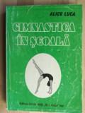 Gimnastica in scoala- Alice Luca