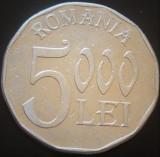 Moneda 5000 LEI - ROMANIA, anul 2003   *cod 94 - aluminiu