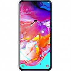 Telefon mobil Samsung Galaxy A70, Dual SIM, 128GB, 6GB RAM, 4G, Albastru