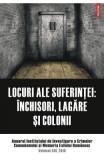 Locuri ale suferintei: inchisori, lagare si colonii