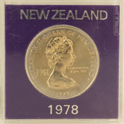 1 dollar/ dolar, 1978 Noua Zeilanda UNC/ necirculata - comemorativa foto