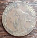 (M60) JETON RAR - FRANTA - REGELE LUDOVIC AL XIV-LEA - 1645